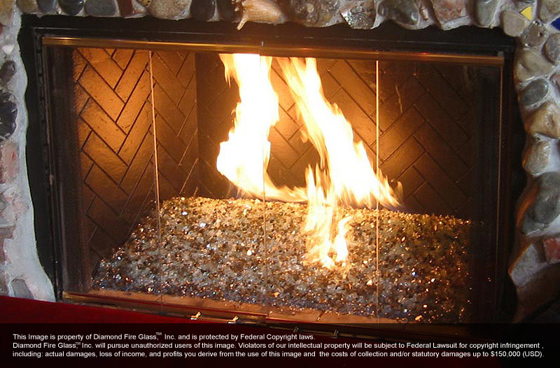 24 Perfect Fire Glass Rocks For Fireplace - pixelmari.com
