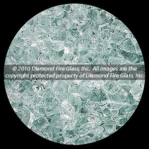 Clear Diamond Fire Pit Glass - 1 LB Crystal Package