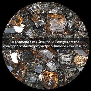Copper Canyon Premixed Diamond Fire Pit Glass