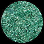 Forest Green 2000 Diamond Fire Pit Glass - 1 LB Crystal Package