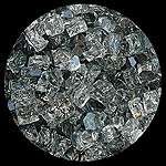 Gray Diamond Fire Pit Glass - 1 LB Nugget Package