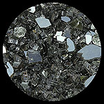 Gray Reflective Diamond Fire Pit Glass - 1 LB Crystal Package