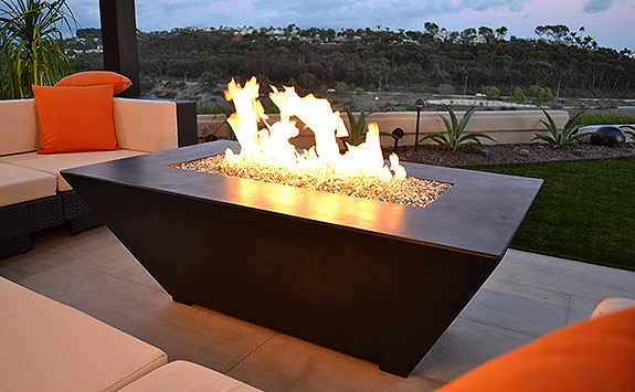 Fire Pit Tables Are A Great Way To Enjoy The Outdoors, Benefiting From The  Warmth The Fire Tables ...