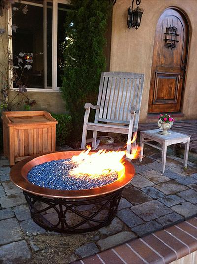Electric Fire Pit >> Electric Blue Reflective Diamond Fire Pit Glass 25 Lb Crystal
