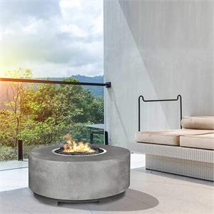 Rotondo fire pit by Prism hardscapes