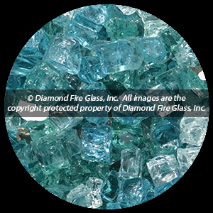 South Coast Premxied Diamond Fire Pit Glass