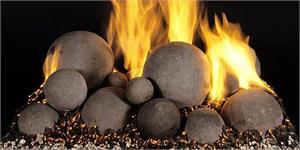 Fire Balls Mixed 24 Inch Set (24-A) (Set of 14 Balls)