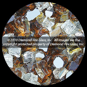 Tuscan Reserve Diamond Fire Pit Glass