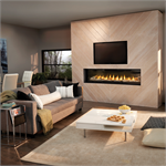 Direct Vent Linear Gas fireplace by Napoleon fireplace company model LVX74N