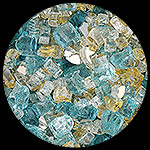 Bel Air Diamond Fire Pit Glass - 1 LB Crystal