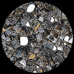 Bronze Reflective Diamond Fire Pit Glass - 1 LB Crystal Package
