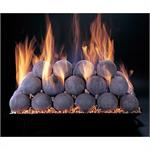 Fire Ball spheres sold in a set of 60 ceramic fire balls by Rasmussen