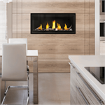 Direct Vent Fireplace by Napoleon featured Luxuria 38 inch linear direct vent fireplace