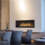 Luxuria Linear Direct Vent Fireplace LVX50N