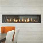 Linear Direct Vent Fireplace by Napoleon Fireplace Company Luxuria Linear Series Model LVX74N2