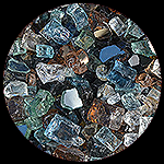 Mystery Mix Premixed Diamond Fire Pit Glass