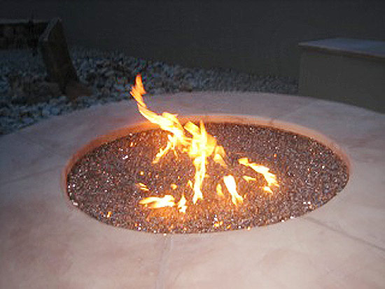Fire Pit Installation For Round Or Circular Fire Pits